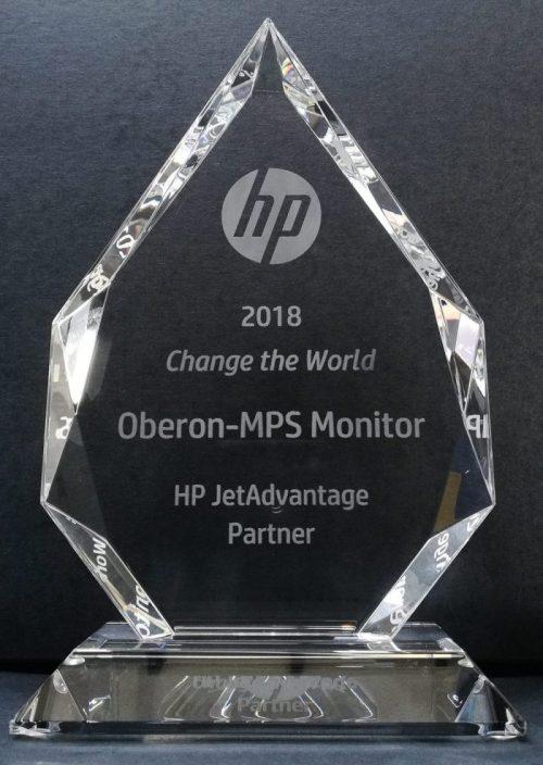 HP JetAdvatage Award